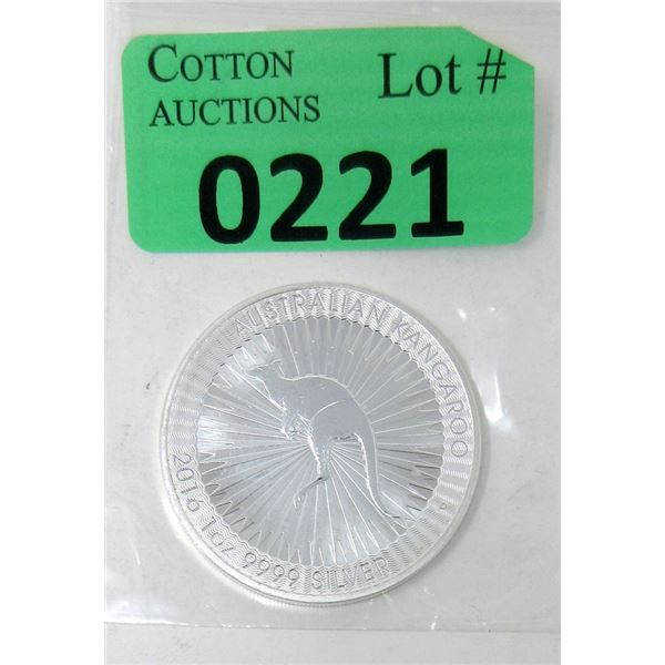 1Ounce 2016 Australia .9999 Silver Coin