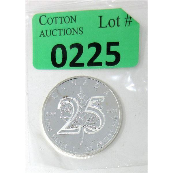 1 Oz. 2013 Canada .9999 Silver Maple Leaf Coin