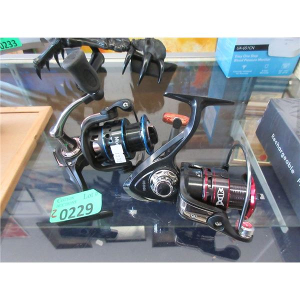One HBS 3000 and One JYS 3000 Fishing Reel