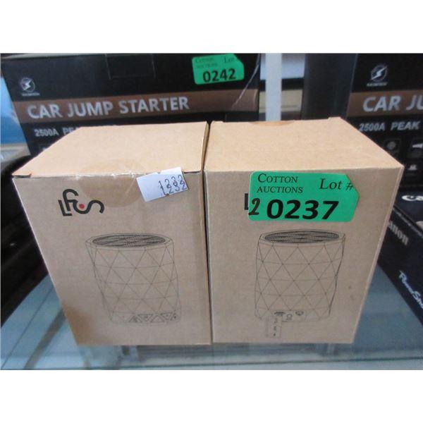 2 Wireless FLS-190 Wireless Mini Speakers