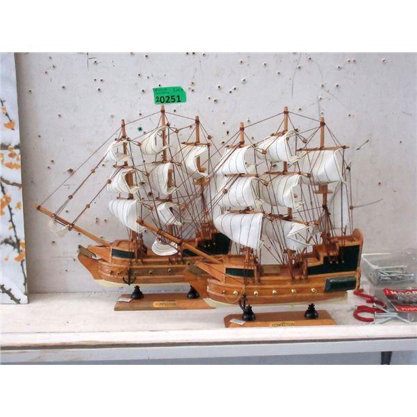 2 New Confection Ship Models