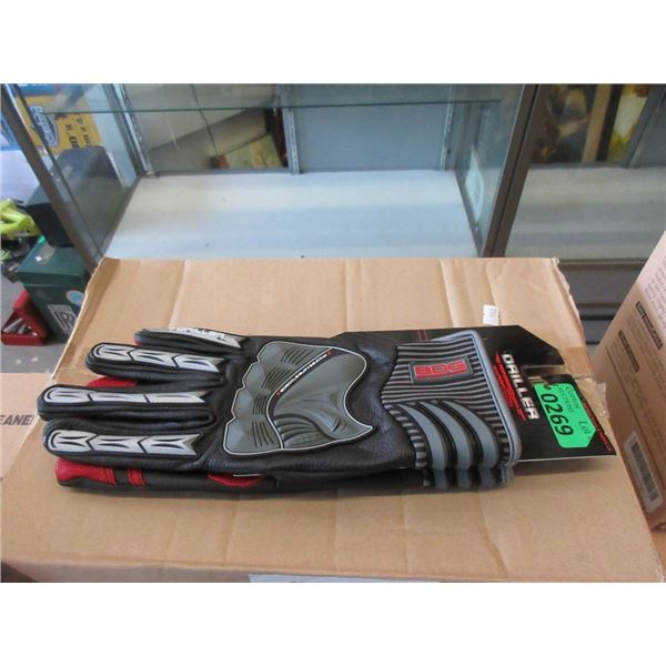 6 New Pairs of BDG Leather XL Driller Gloves
