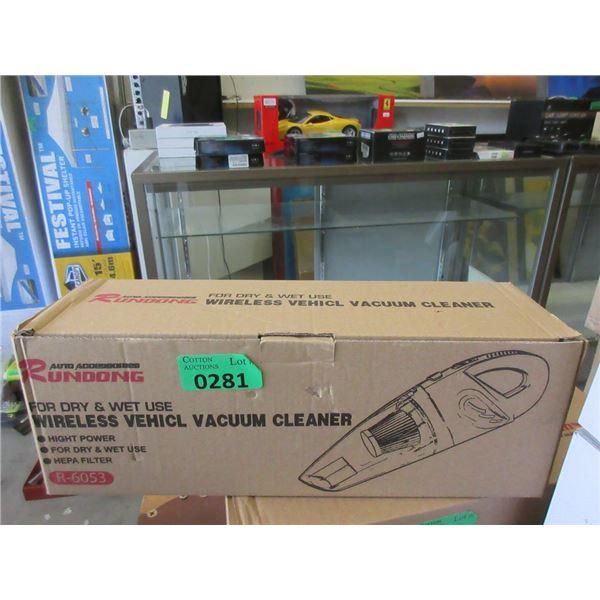 Rundong Wireless Vehicle Vacuum Cleaner