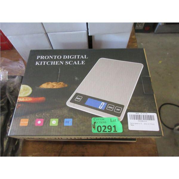 4 New Digital Kitchen Scales