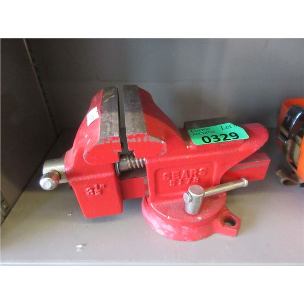 """Sears 3.5"""" Bench Vise"""