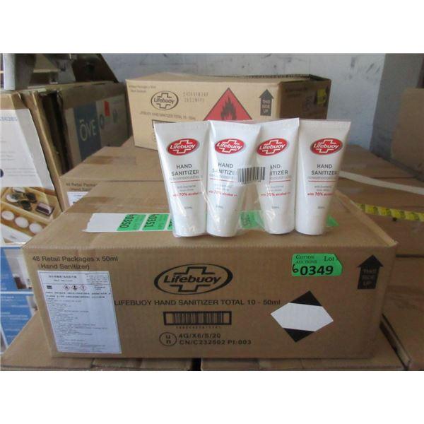 6 Cases of 48 x 50ml Lifebuoy Hand Sanitizer