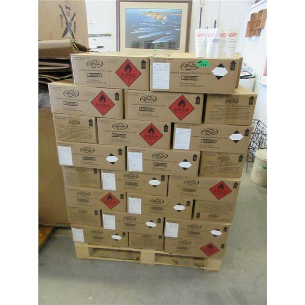Skid of 80 Cases of Lifebuoy Hand Sanitizer Tubes