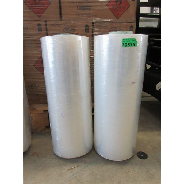 """2 New Rolls of 20"""" Wide Poly Film"""