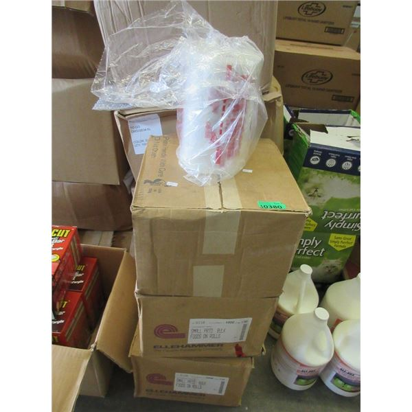 3 Cases of 4 Rolls of New Bulk Food Bags