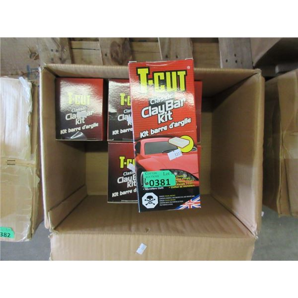 6 New T-Cut Classic Clay Bar Kits for Cars