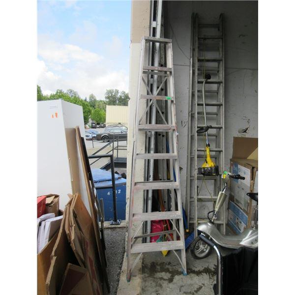 8 Foot Aluminum Step Ladder