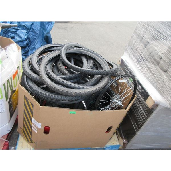 Skid of Bike Tires and More - Store Returns