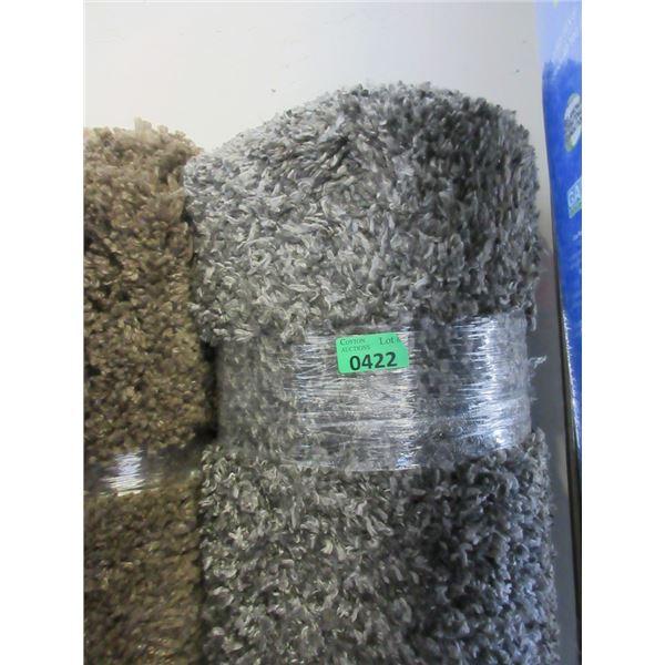 5' x 7' Dark Grey Speckled Shag Area Carpet