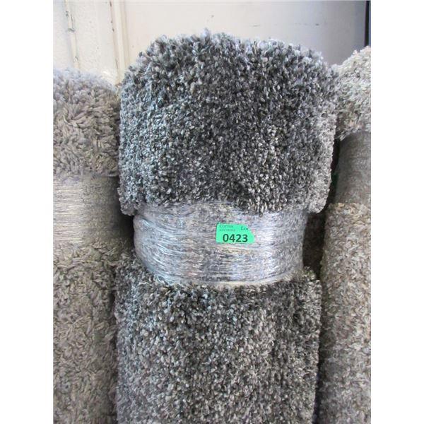 5' x 7' Grey Shag Area Carpet - Store Return