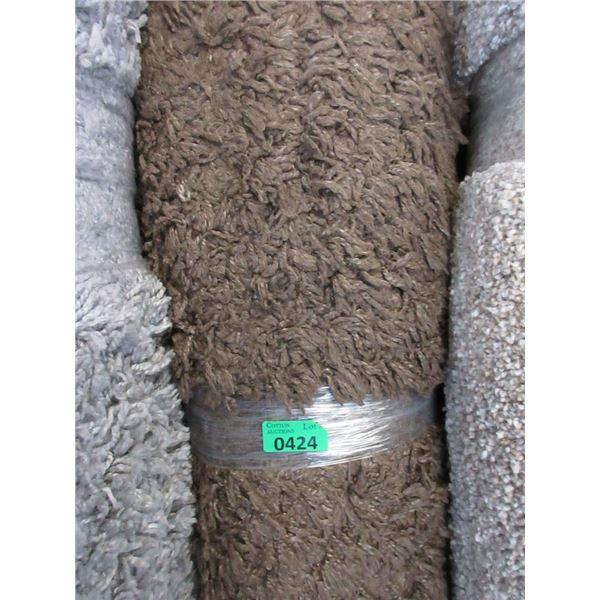 5' x 7' Brown Shag Area Carpet - Store Return