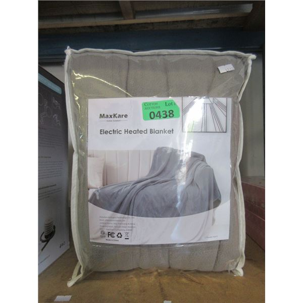 MaxKare Electric Heated Blanket - Size Unknown