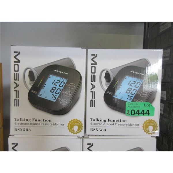 2 Mosafe Electric Blood Pressure Monitors