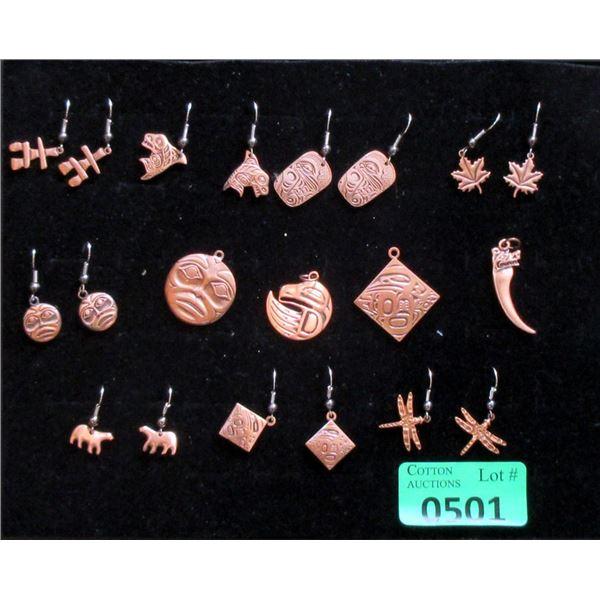 New Frederick Design Metal Earrings & Pendants