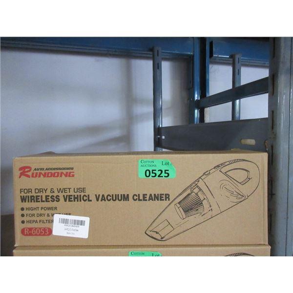 Rundong Wireless Wet Dry Car Vacuum