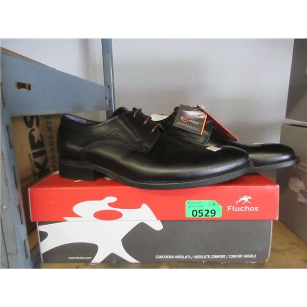 Fluchos Size 43 Men's Leather Dress Shoe
