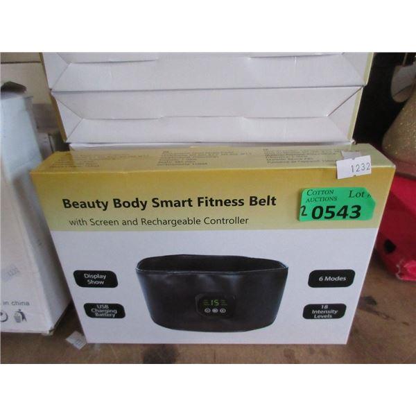 2 New Beauty Body Smart Fitness Belts