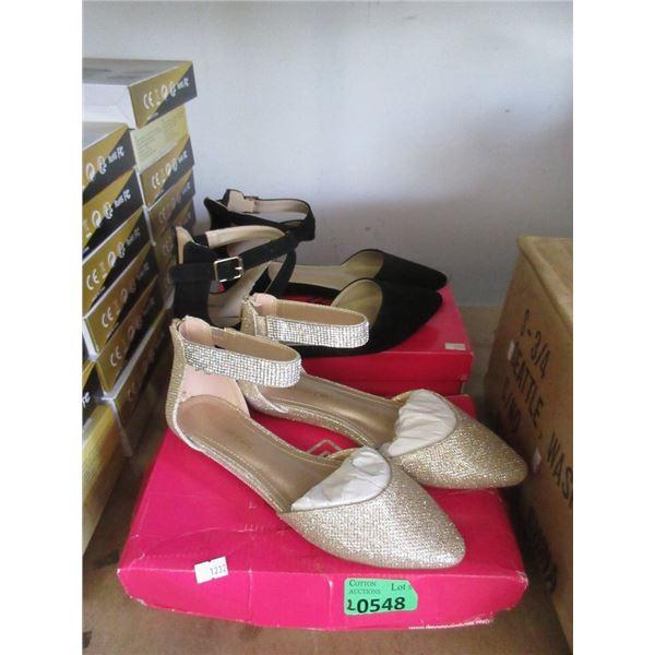 1 Size 7.5 & 1 Size 11 Ladies Shoes