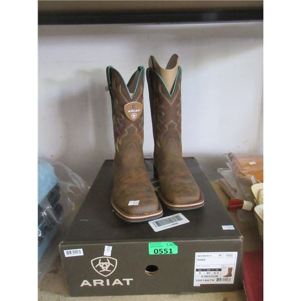 Women's Ariat  Delilah Size 9 Boots