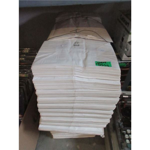 2 Large Bundle of New Checkout Paper Bags