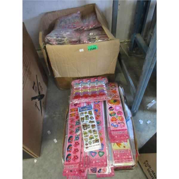 2 Boxes of Children's Stickers