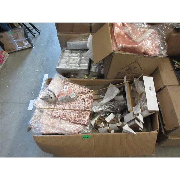 3 Boxes of New Christmas & Home Décor