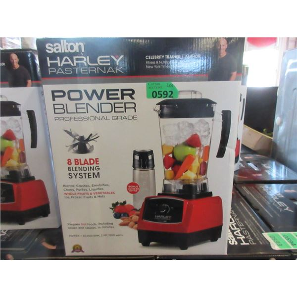 New Harley Pasternak 8 Blade Power Blender