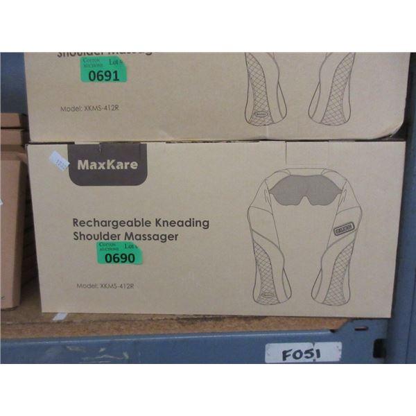 MaxKar Rechargeable Kneading Shoulder Massager