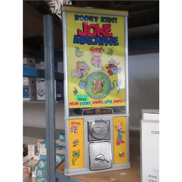 Kooky Kids Northern Beaver Gumball/Joke Machine
