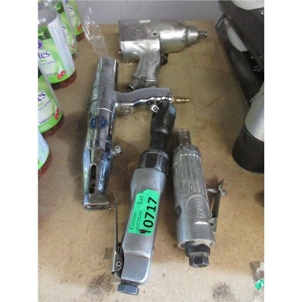 4 Assorted Air Tools