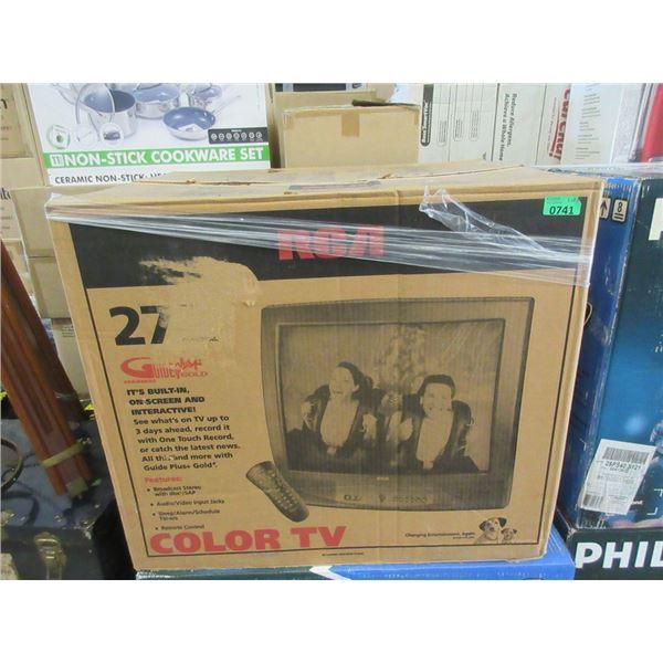 "RCA 27"" Colour TV with Remote"