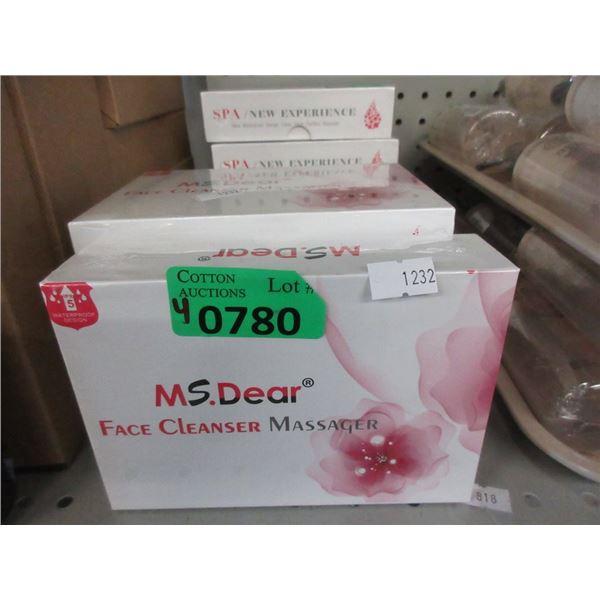 4 Ms.Dear Face Cleanser Massagers
