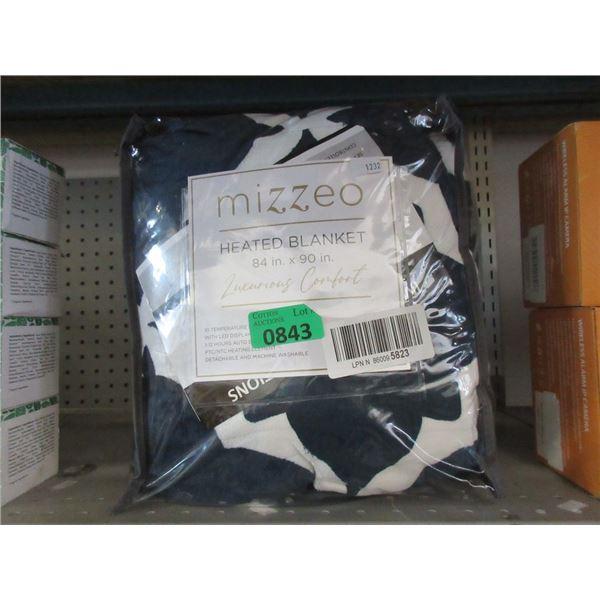 "Mizzeo 84"" x 90"" Heated Blanket"