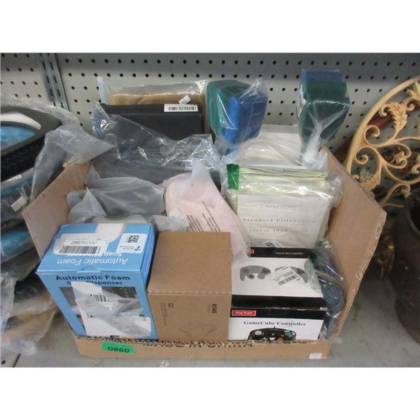 Box of Assorted General Merchandise