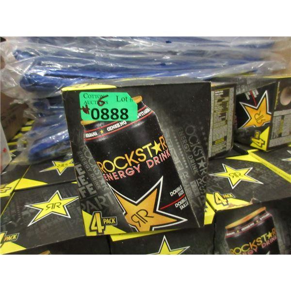 6 x 4 Packs of 473ml Rockstar Energy Drink