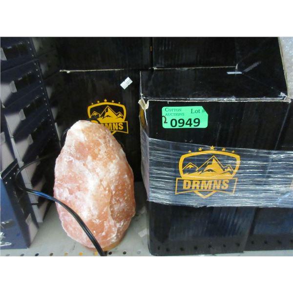 2 New DRMNS Himalayan Salt Lamps