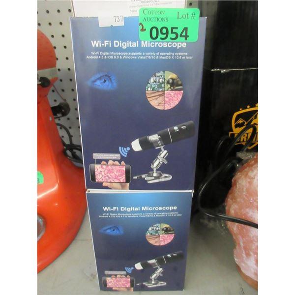2 Wi-Fi Digital Microscopes