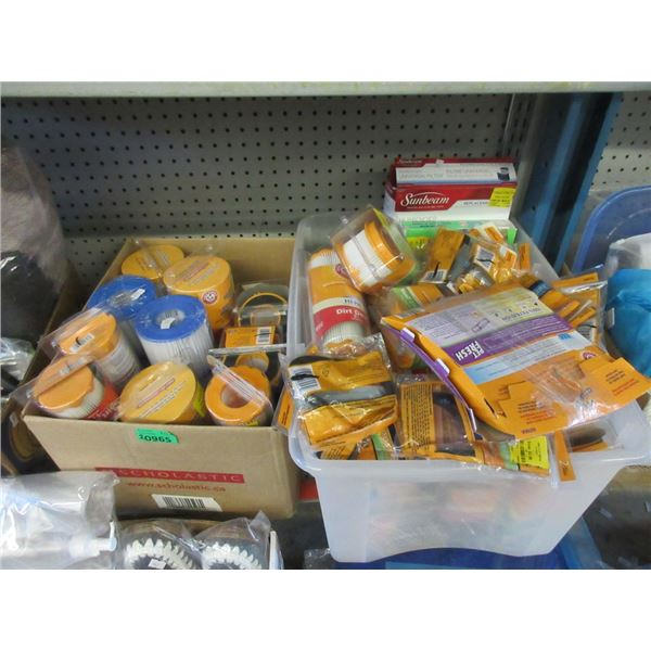 2 Boxes of Assorted Arm & Hammer Vacuum Filters