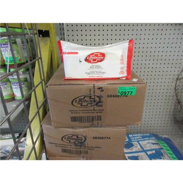 2 Cases of Lifebuoy Antibacterial Wet Wipes