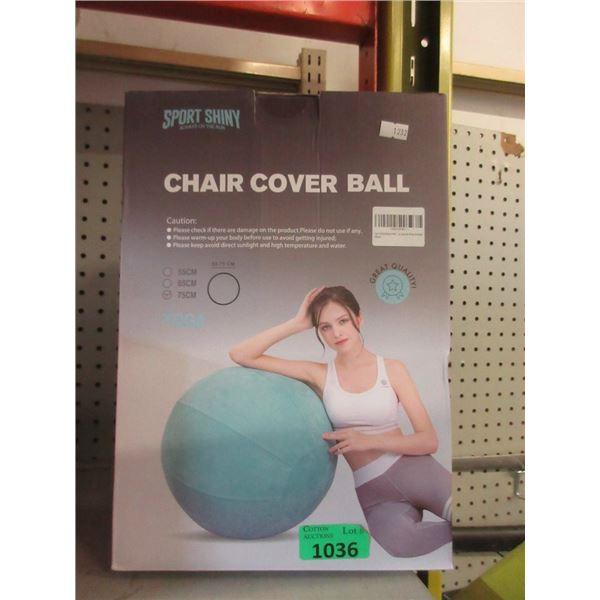 Sport Shiny 75cm Chair Cover Ball