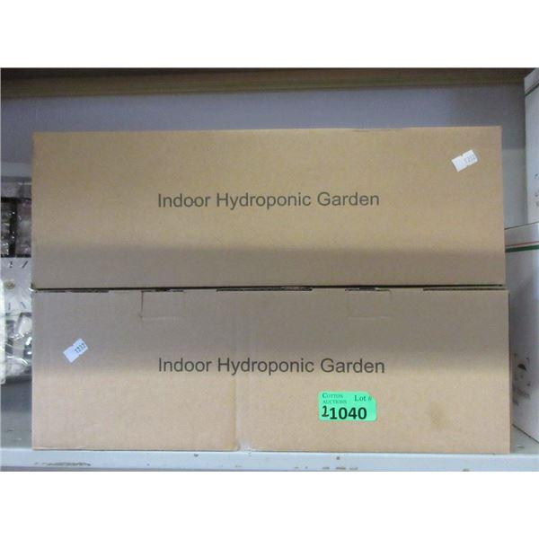 2 Indoor 10 Watt Hydroponic Gardens