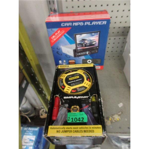 Car MP5 Player & Stanley Car Starter