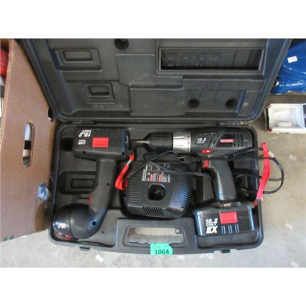 Craftsman Cordless Drill & Work Light