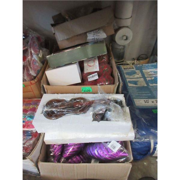 2 Cases of New Household Goods & Decor