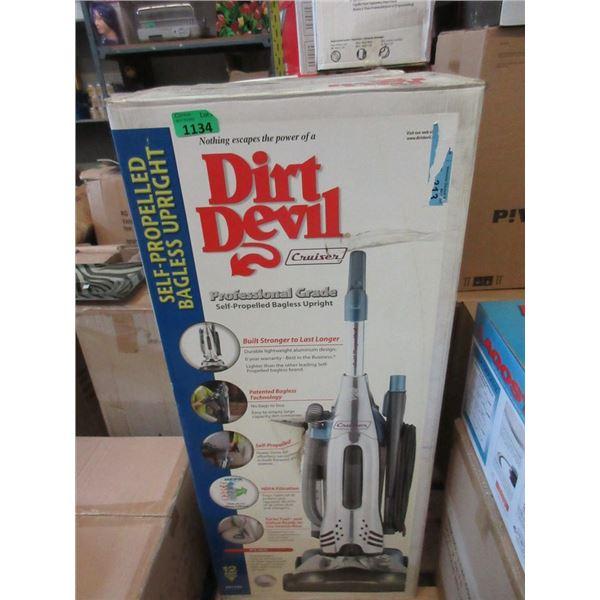 New Dirt Devil Professional Grade Upright Vacuum