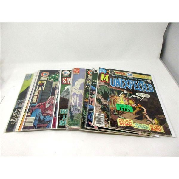 15 Vintage 12¢ to 25¢ Comics - Ghosts & Horror